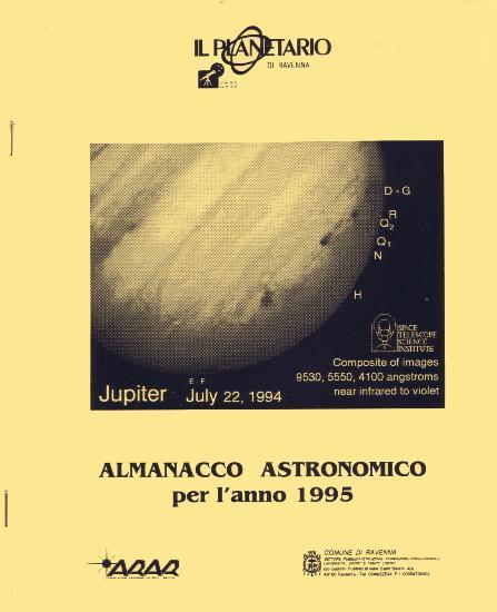 Copertina almanacco 1995