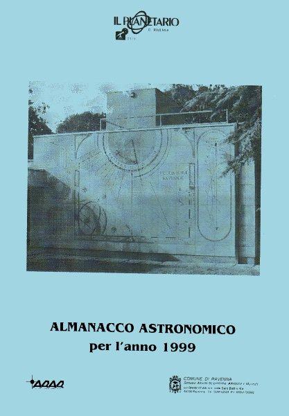 Copertina almanacco 1999