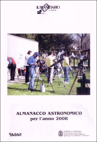 Copertina almanacco 2008