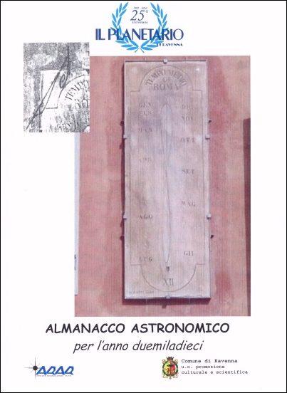 Copertina almanacco 2010