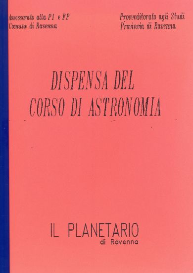 Dispensa del corso di astronomia (1991)