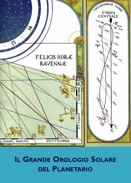 Copertina opuscolo Il Grande Orologio Solare del Planetario